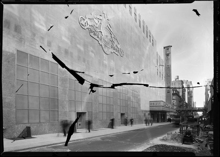 49th Street facade of the R-K-O Roxy, 1932.