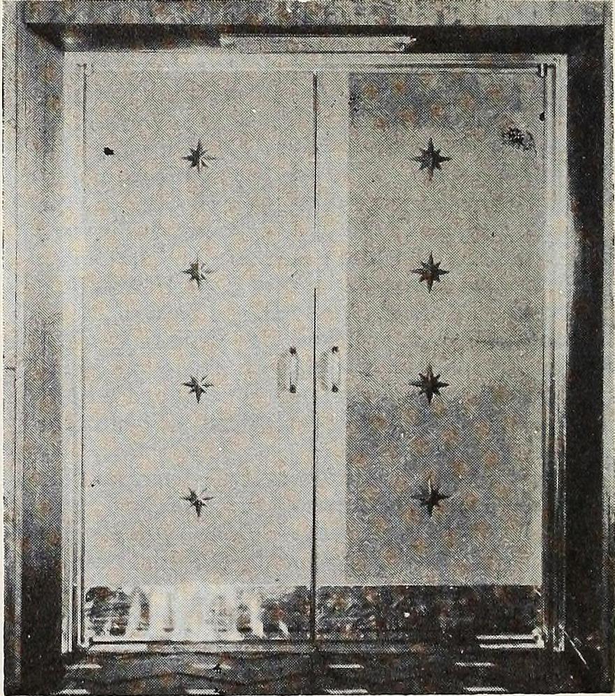 Detail of Foyer Doors.