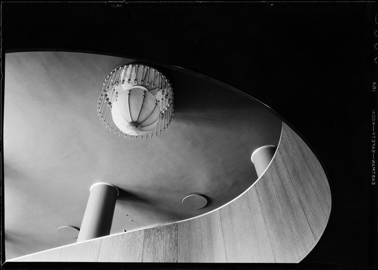Ceiling detail of R-K-O Roxy, 1932