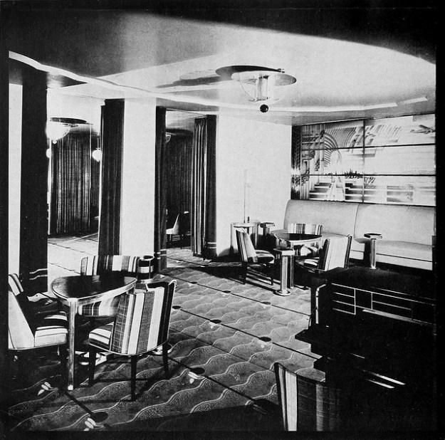 Ladies' Powder Room, R-K-O Roxy. 1932.