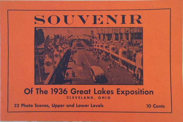 Souvenir book of the Great Lakes Exposition.