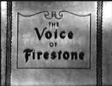Voice of Firestone opening credit.