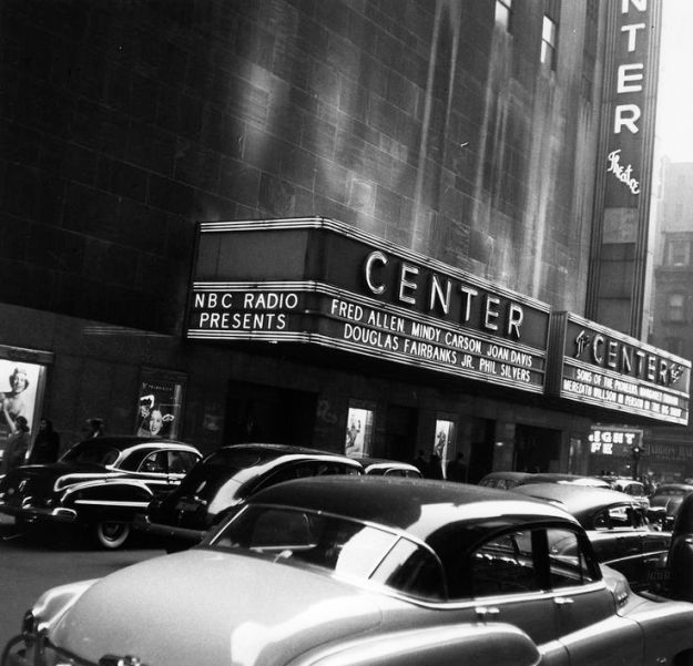 The Center Theatre, December 1950.