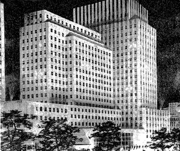 U.S. Rubber Building annex.