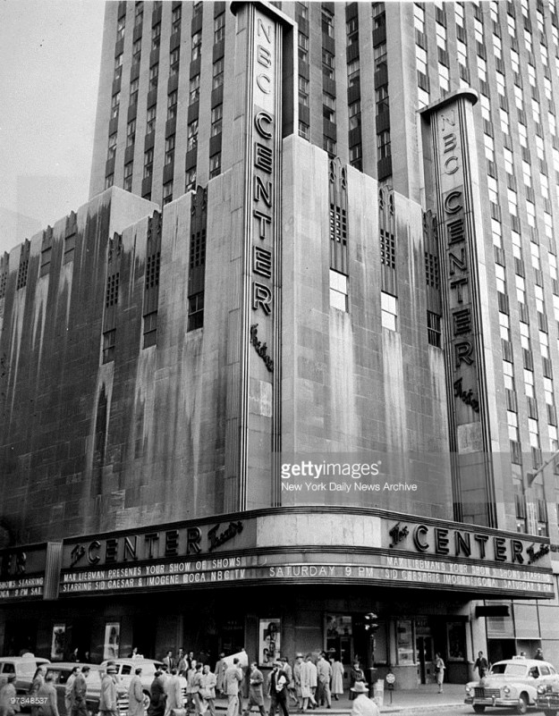 The Center Theatre in 1953