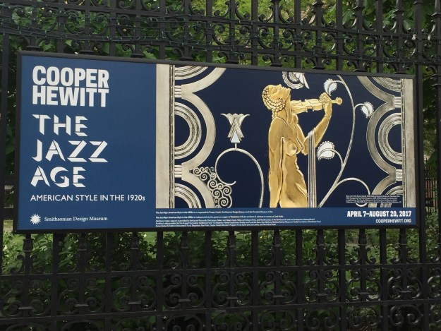 The Jazz Age exhibition now at the Cooper Hewitt.
