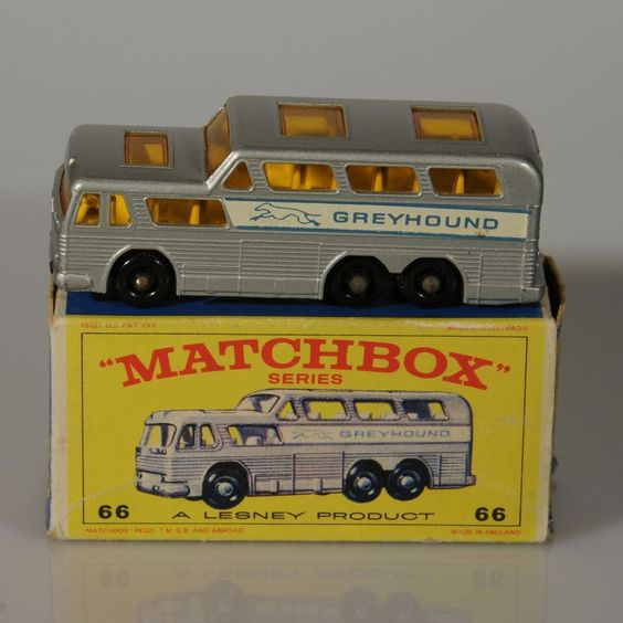 Matchbox Greyhound.