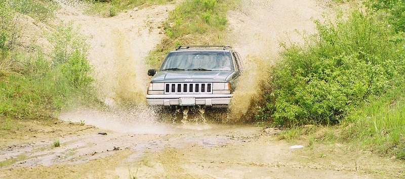 offroading