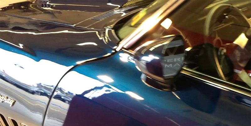 waxed car