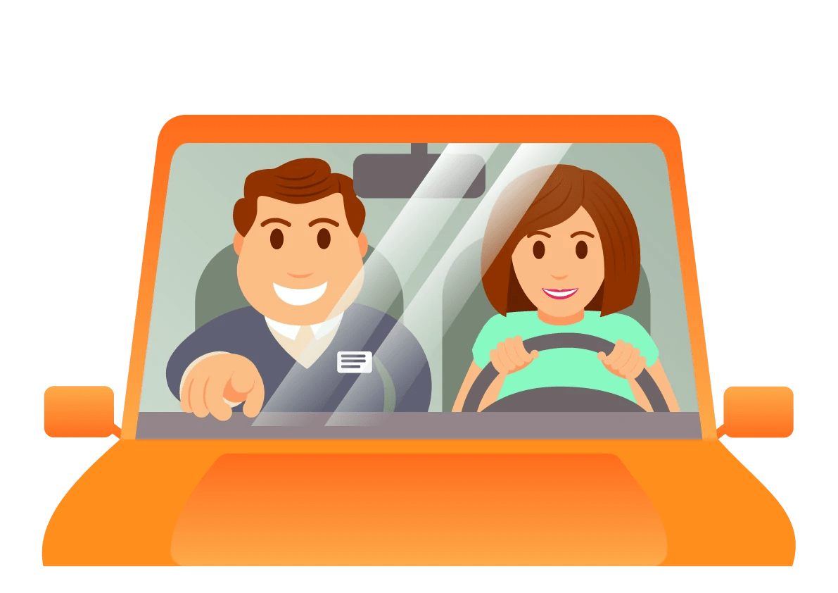 behind the wheel driving school