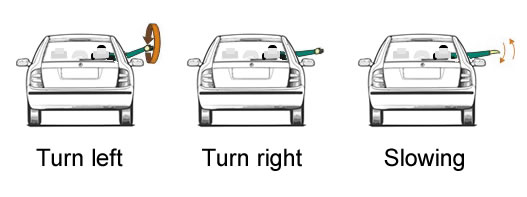 Turning Left Driving Lesson