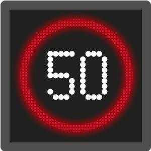 advisory and mandatory speed