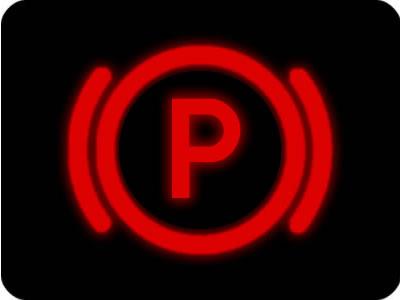 Parking Brake Warning Light | Car Dashboard Warning Light