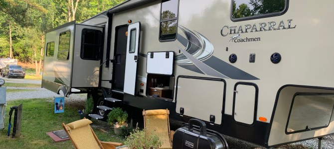 Tour our 5th Wheel RV!