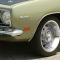 Yearone mopar rallye wheels drivin it home