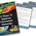 10 Ways To Balance Hormones Naturally