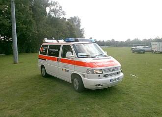 """""""Rotkreuz Lippstadt 1 ELW 1"""", Fahrzeughersteller: Volkswagen, Fahrzeugtyp: T4, Baujahr: 2002, Leistung: 75 kW (100 PS)"""