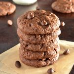 الكوكيز مزدوجة الشوكولاتة (خالية من الجلوتين)