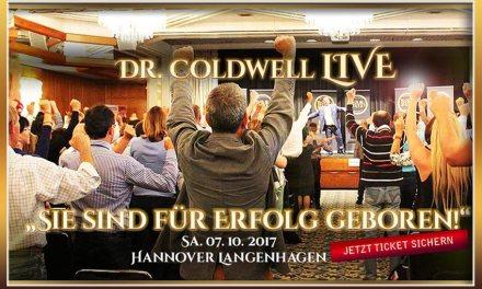 Dr. Leonard Coldwell LIVE in Hannover erleben! 07.10.2017