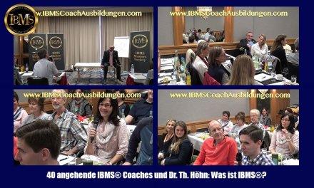 Angehende IBMS® Coaches erklären uns, was sie unter IBMS® verstehen