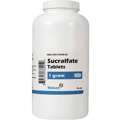 Sucralfate: Side Effects, Dosages, Treatment, Interactions