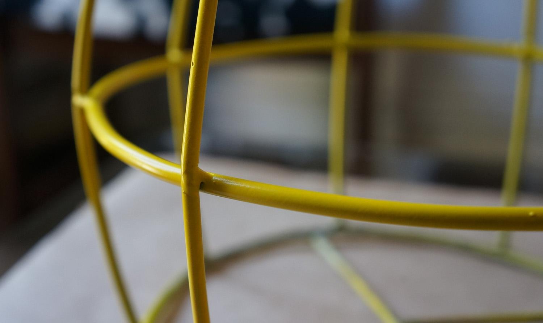 DIY. Convierte una lámpara en una cesta