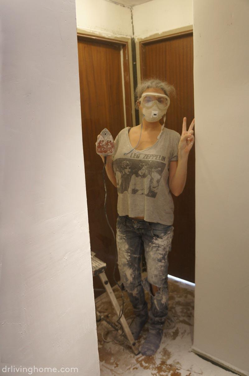 C mo cubrir gotel de forma f cil decoraci n online para tu casa blog decoraci n diy ideas - Como alisar paredes ...