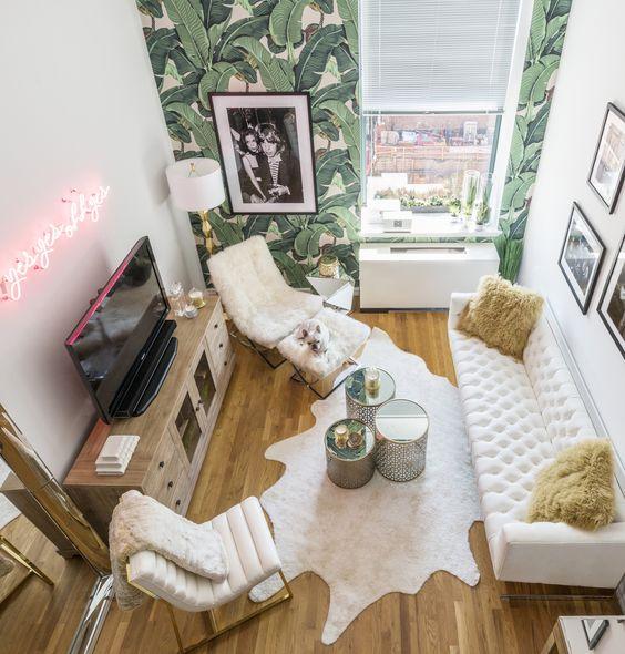 Megapost 50 Ideas Geniales Para Decorar Un Piso Pequeno - Decorar-pisos-pequeos