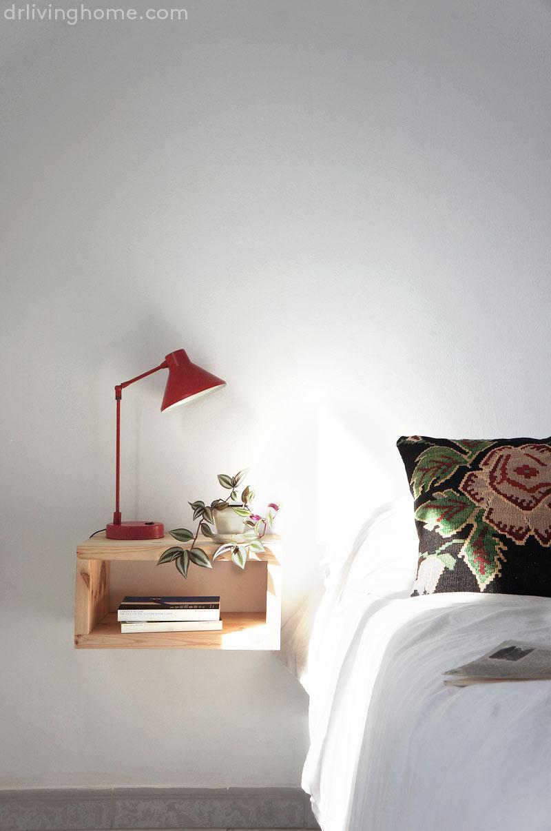 Diy mesilla de noche flotante Decoracin online para tu casa blog