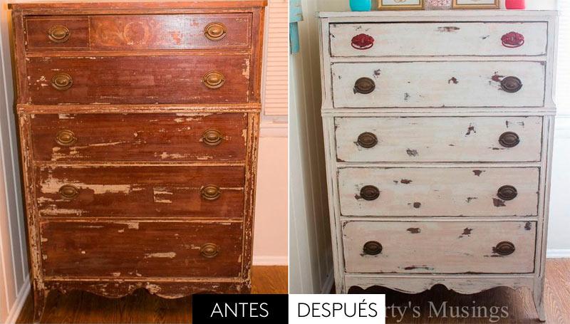 5 muebles que eran más bonitos antes que después