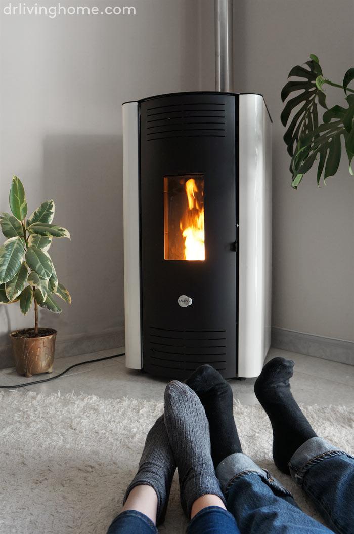 Nuestro nuevo sistema de calefacci n con leroy merlin decoraci n online para tu casa blog - Estufas de pellets leroy merlin ...