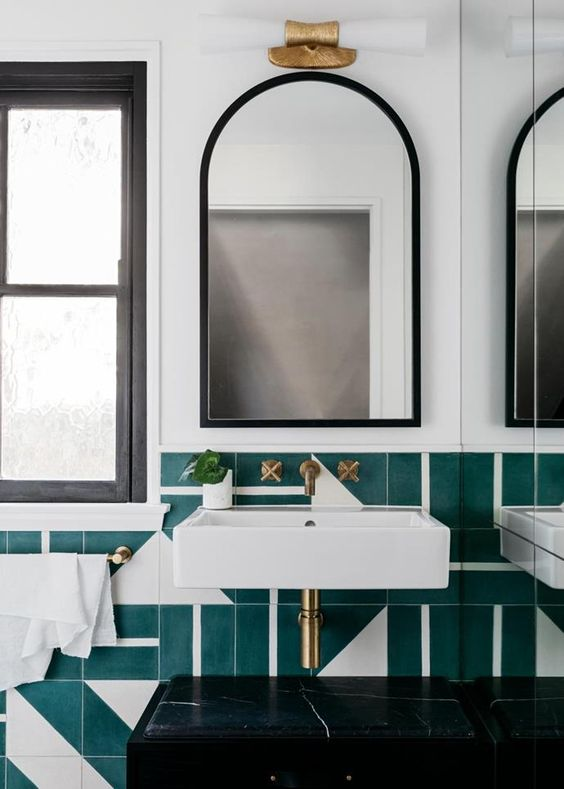 Inspiración: baños llenos de color