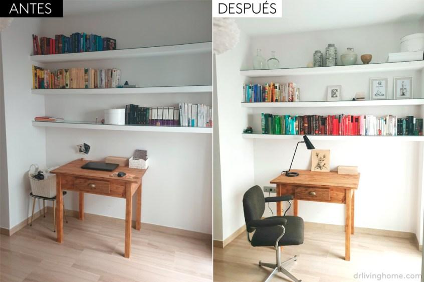 El antes y después del dormitorio de Virginia
