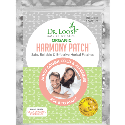 harmony patches Patch Dr Loo Natural Child Cough Allergy Remedy Herbal Ingredients Healing Medicine Health Plant
