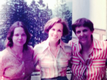 Me with 2 Romanian workers.  July 1976.