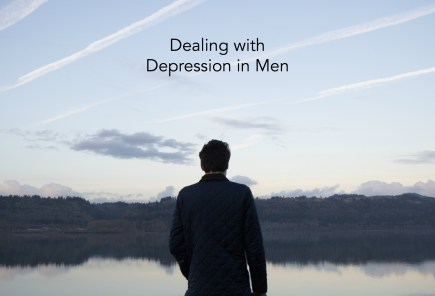 Dealing with depression in men