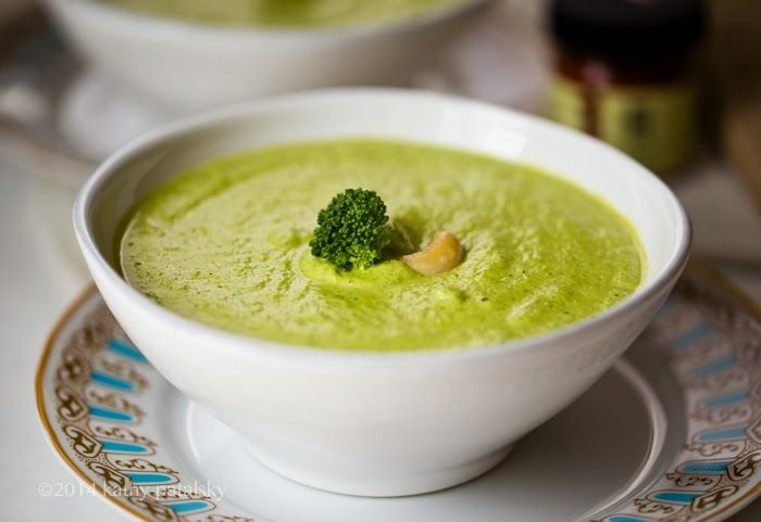 Broccoli Pumpkin Seed Bisque