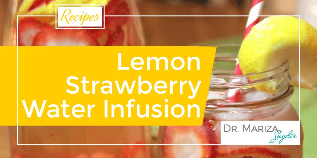 Lemon Strawberry Water-01