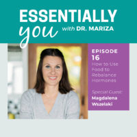 Essentially You Podcast 016: How to Use Seed Rotation to Rebalance Hormones​ with Magdalena Wszelaki