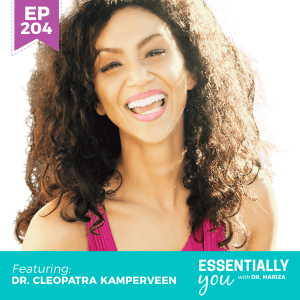 #204: How to Reverse Reproductive Aging and Upgrade Your Baby's Epigenetics with Dr. Cleopatra Kamperveen