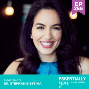 #256: How to Build Lean Muscle and Boost Your Metabolism Based on Your Menstrual Cycle, Even in Perimenopause with Dr. Stephanie Estima