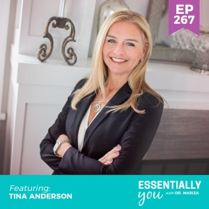 #267: The Gut Hormone Connection and What You Can Do to Start Healing Your Gut Today with Tina Anderson