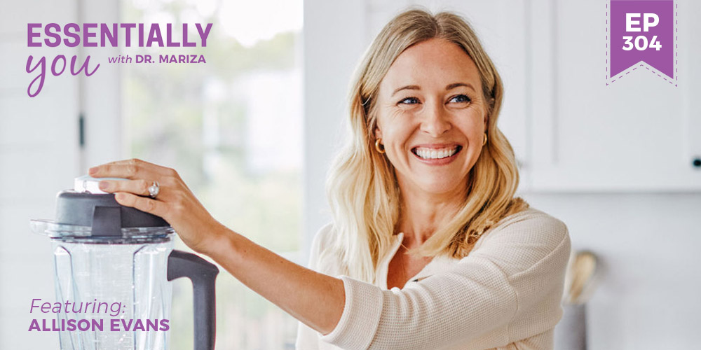 #304: Naturally Recovering from PCOS Through Living a Clean Lifestyle + the First Step to Take in Reducing Toxins in the Body with Allison Evans