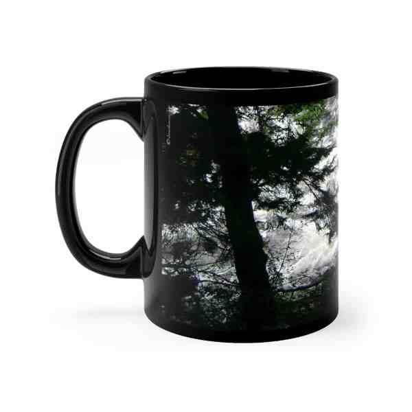 Ketchikan Inspirations -Black mug 11oz 3