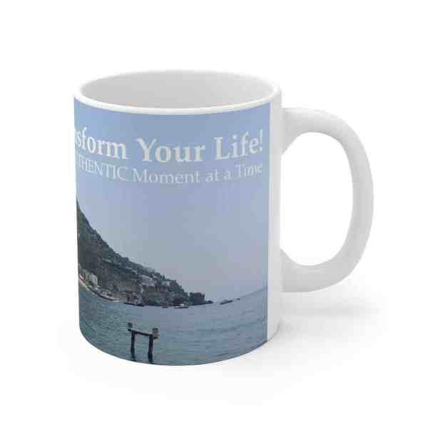 Transform Your Life!... -Inspirational Ceramic Mug 1