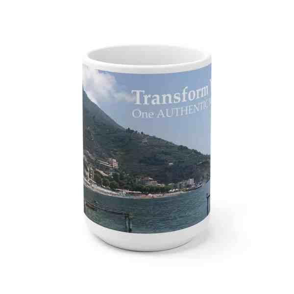 Transform Your Life!... -Inspirational Ceramic Mug 4