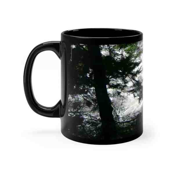 Ketchikan Inspirations -Black mug 11oz 3