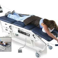 Spinal Decompression Chair Stool Legs Therapy Northeast Philly Back Disc Patient Getting