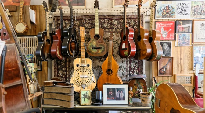 Terry's Story: Building A Guitar Museum