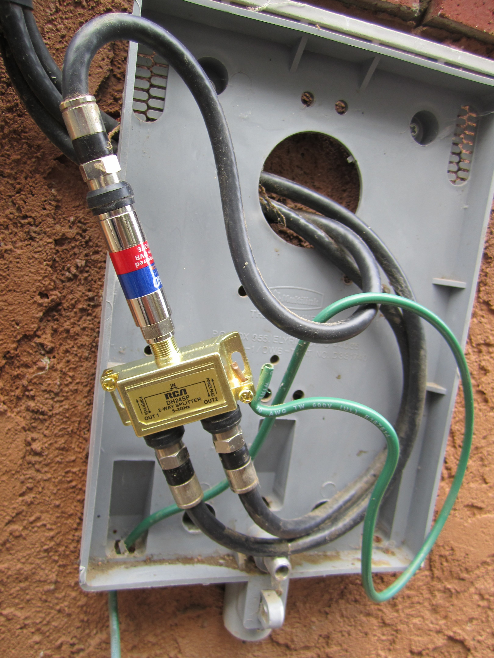 hight resolution of original cable utility box modified cable utility box